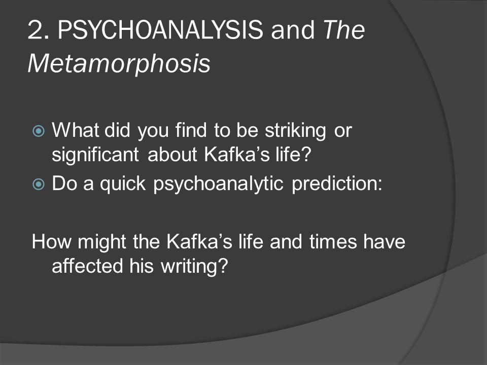 Franz Kafka…a bit of his bio.