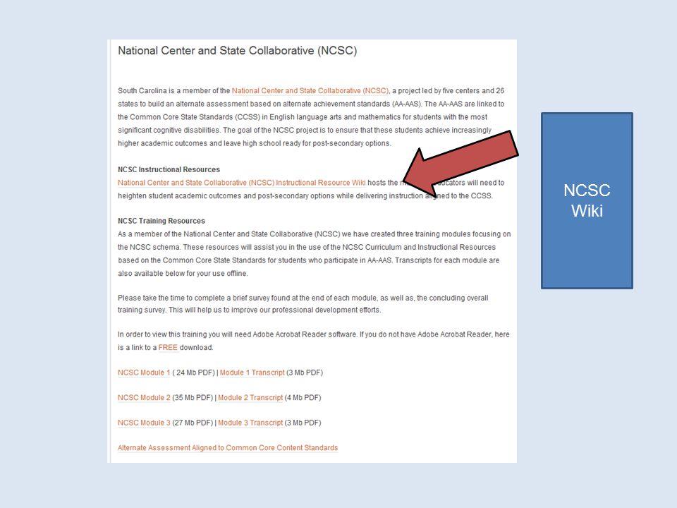 NCSC Wiki