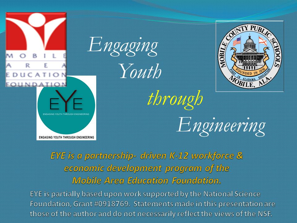 Engaging Youth through Engineering