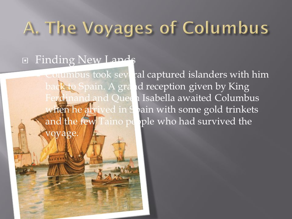  The impact of the Columbian exchange  The Columbian exchange, tobacco and cocoa became popular in Europe.