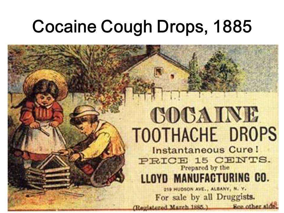 Cocaine Cough Drops, 1885
