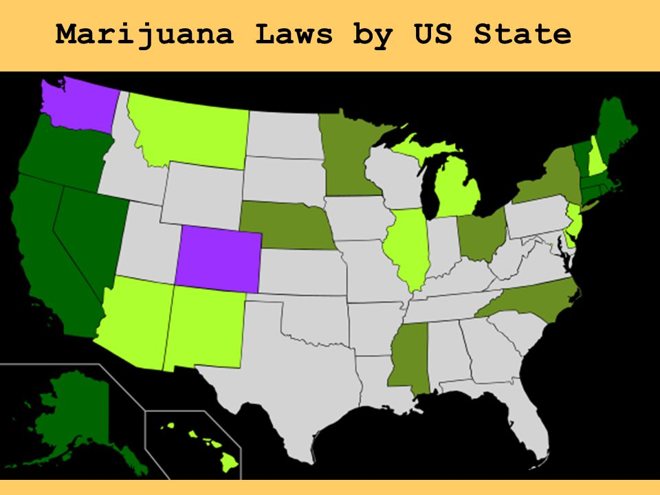 Marijuana Laws by US State