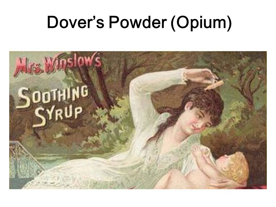 Dover's Powder (Opium)