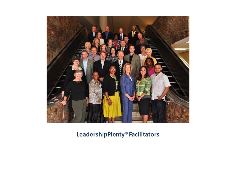 LeadershipPlenty® Facilitators