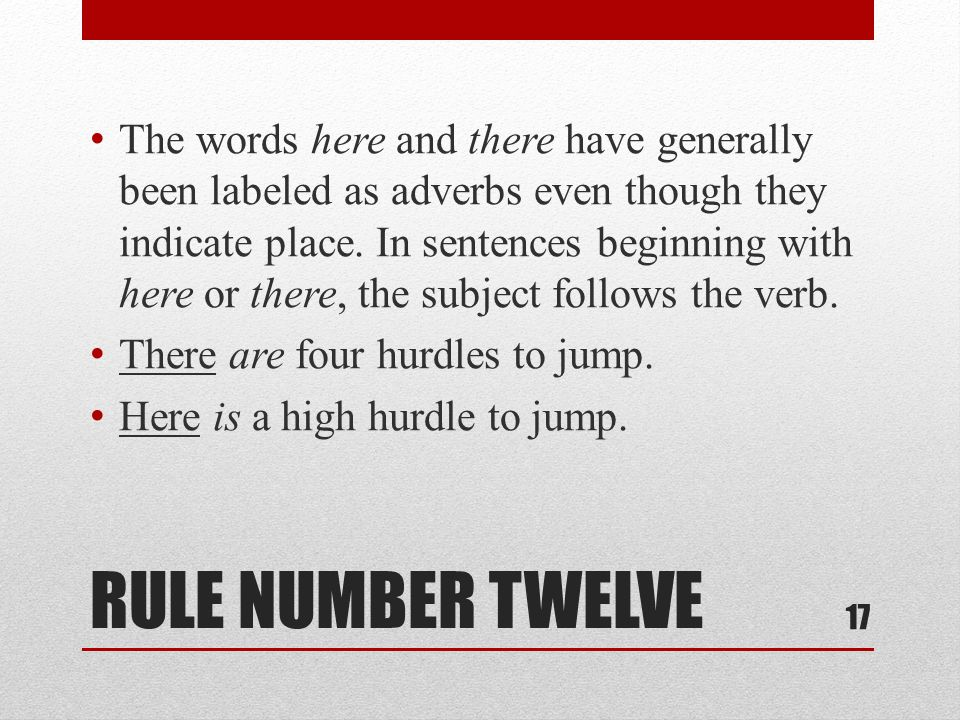 RULE NUMBER THIRTEEN Use a singular verb with sums of money or periods of time.