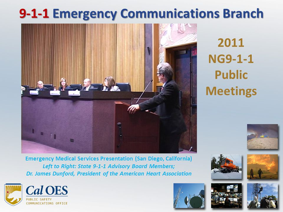 From 2007 to December of 2011, the number of wireless calls receiving a busy signal or failing to be answered dropped from approximately 42% to below 2% In October 2011, the RED Project won the prestigious National Association of State Chief Information Officers award for Cross Boundary Collaboration and Partnerships As a result of California's success, several other states have inquired regarding our innovative strategy and technology used to efficiently route the 9-1-1 calls to the right PSAP the first time Routing on Empirical Data (RED) Project Phase 1 Santa Barbara & Ventura 249 - 74% Phase 2 Bay Area 3,061 - 45% Phase 3 Southland2,234 - 31% Phase 4 Northern Area 556 - 20% Phase 5 Central 2,183 - 68% Phase 6 Los Angeles 1,379 - 29% Total 9,662 43% average / phase (9,662 of 22,442 sectors evaluated)