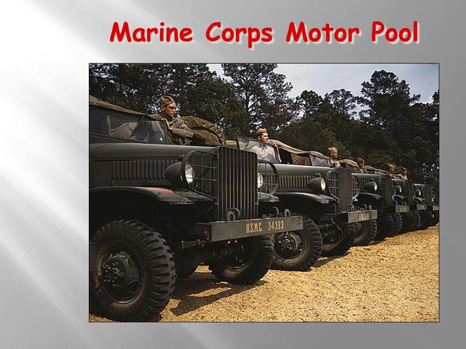 Marine Corps Motor Pool