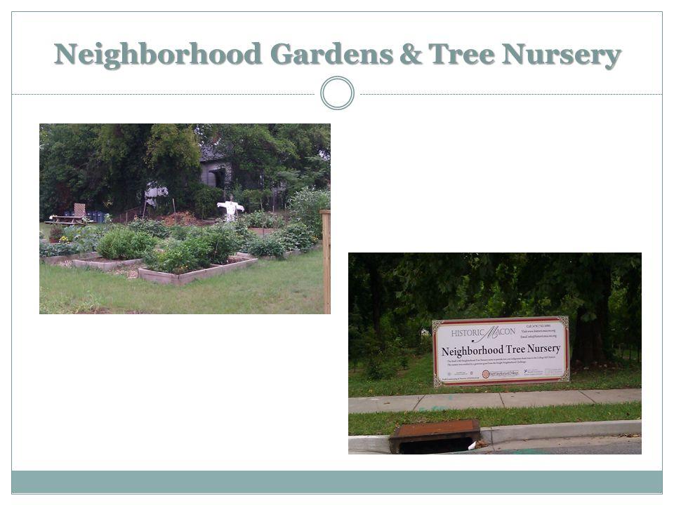 Neighborhood Gardens & Tree Nursery