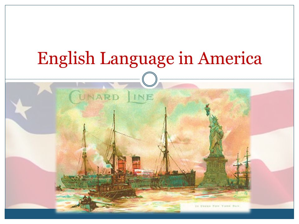 English Language in America