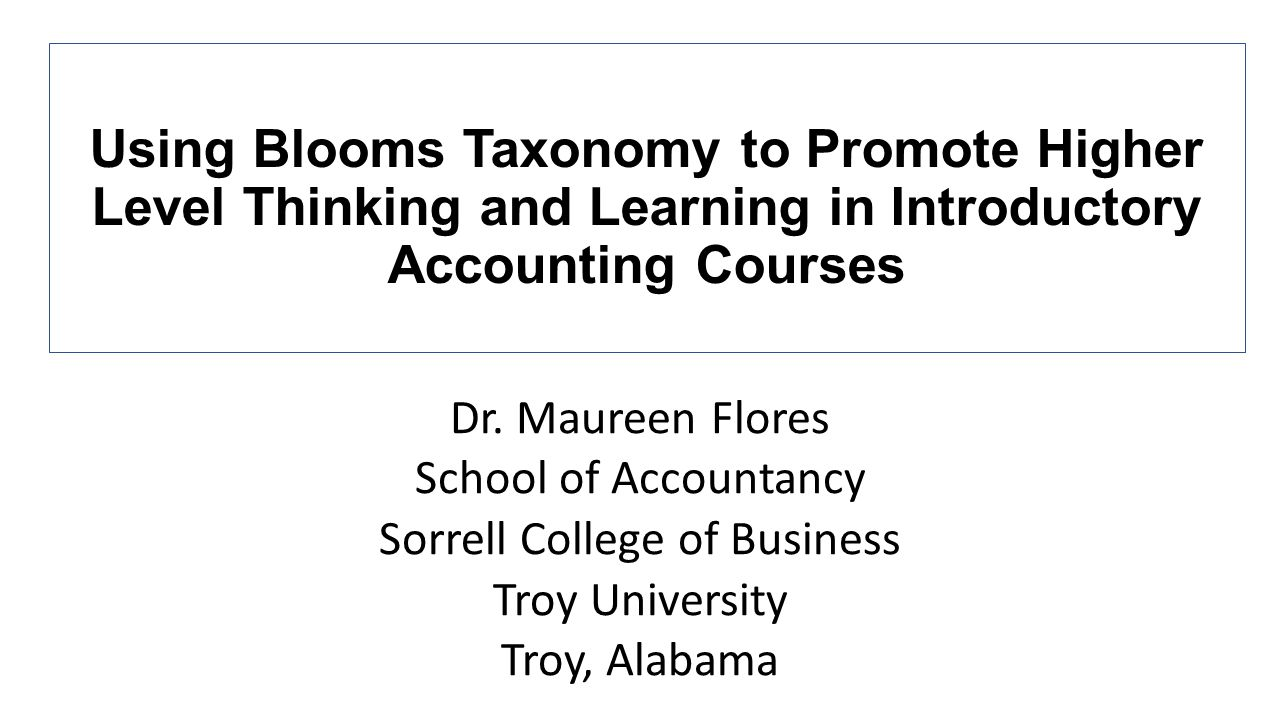 Objective Give students a better understanding of creating, reading, and analyzing financial statements that goes beyond basic memorization of introductory accounting concepts Intended Audience Students in Introductory Principles of Accounting Courses