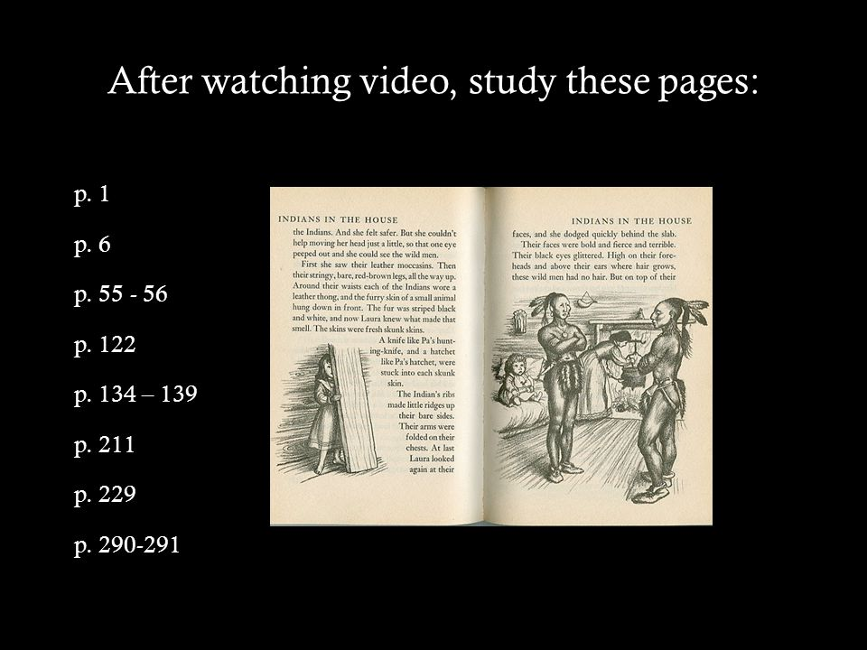 After watching video, study these pages: p. 1 p. 6 p.