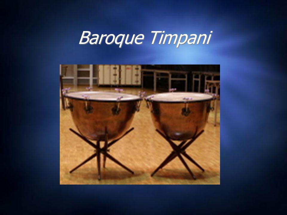 Baroque Timpani