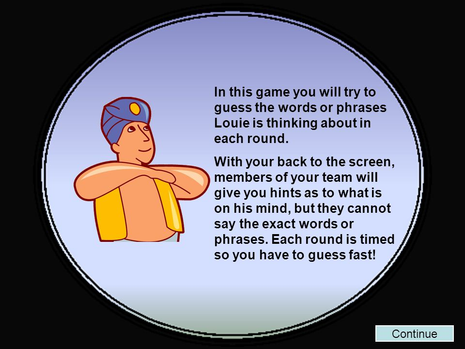 Back to Board START Round 10 Louie is thinking about… Whether Weater