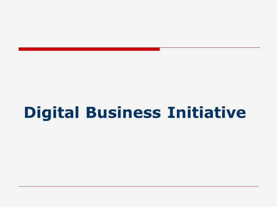 Digital Business Initiative
