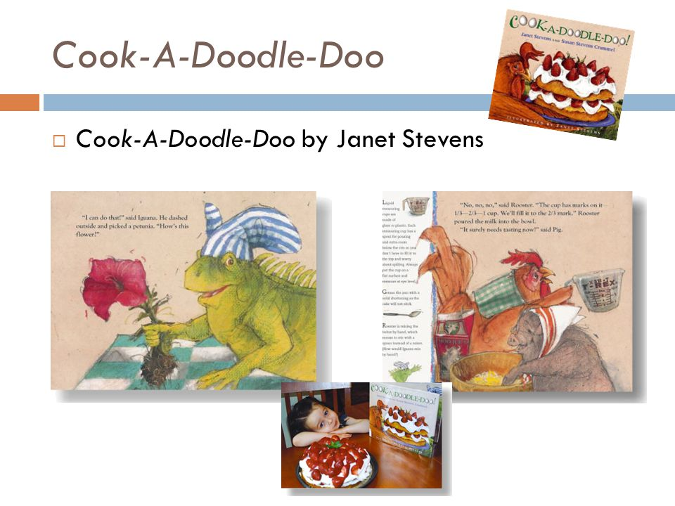 Cook-A-Doodle-Doo  Cook-A-Doodle-Doo by Janet Stevens