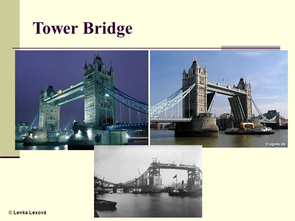 © Lenka Lexová Tower Bridge