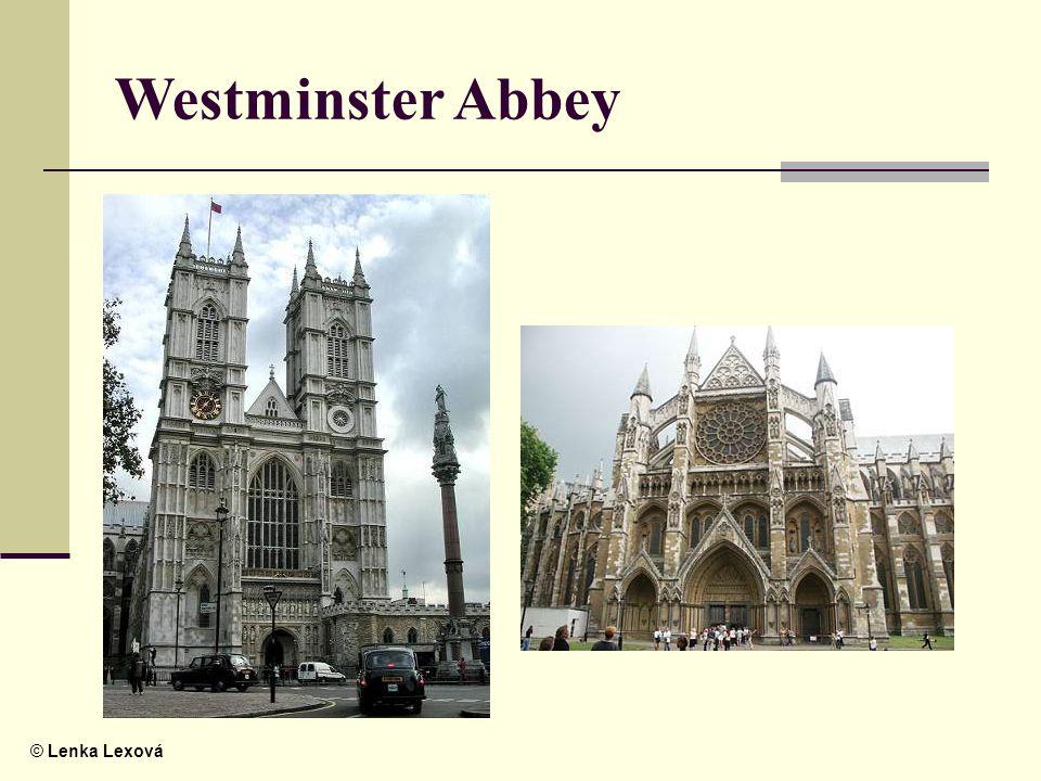© Lenka Lexová Westminster Abbey