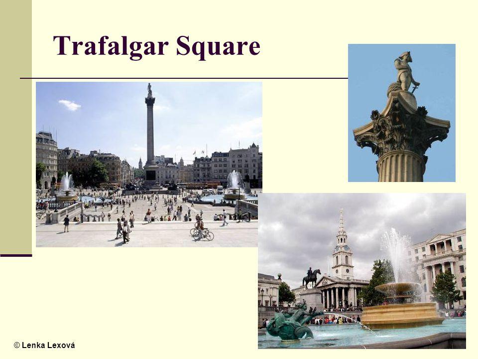 © Lenka Lexová Trafalgar Square