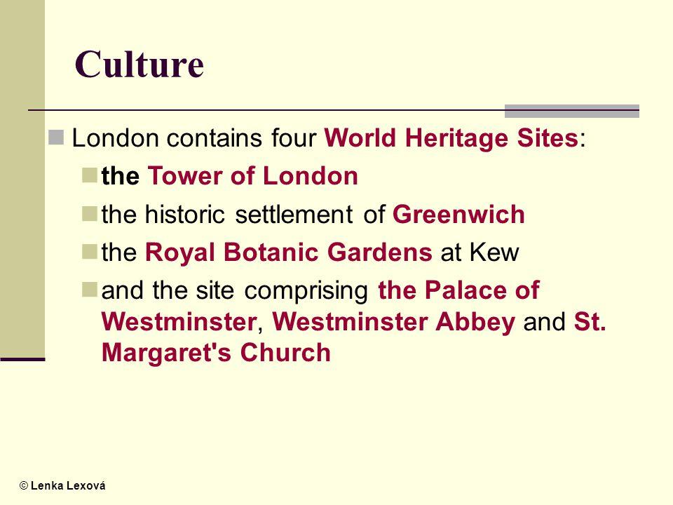 © Lenka Lexová The Westminster Palace (The Houses of Parliament)