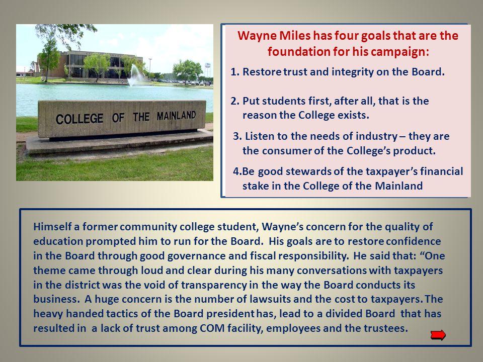 Wayne was born in Texarkana and is a 4th generation Texan.
