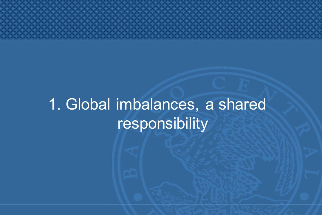 1. Global imbalances, a shared responsibility