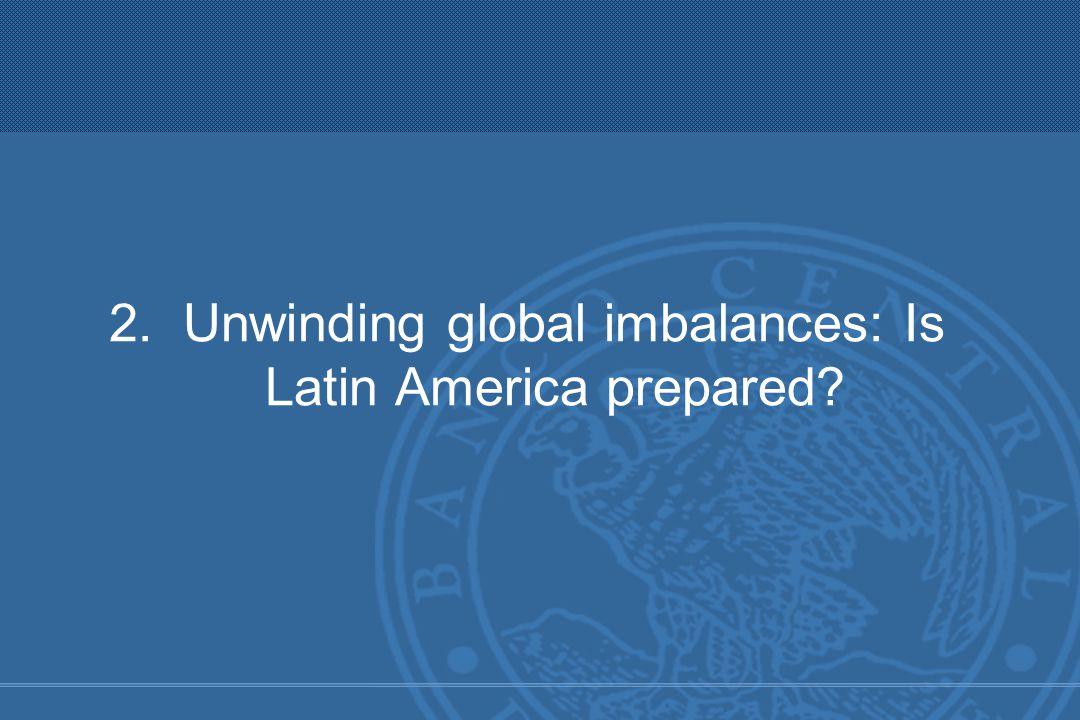 2. Unwinding global imbalances: Is Latin America prepared