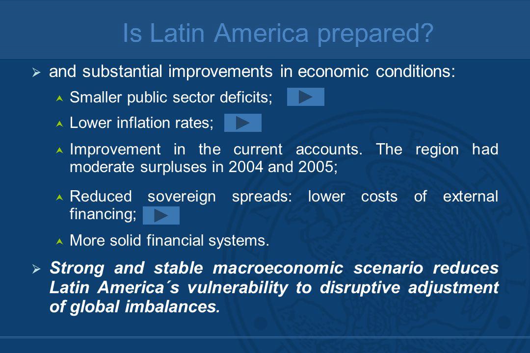 Is Latin America prepared.