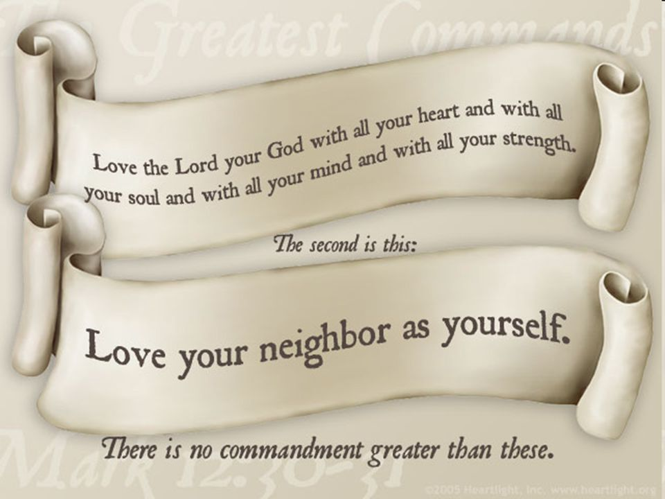 Christ in His earthly ministry says: A new commandment I give unto you, That ye love one another. (John 13:35, KJV)