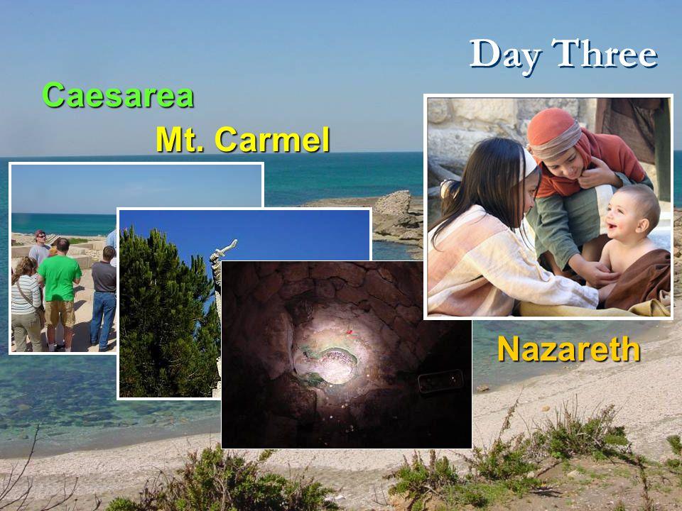 Day Four and Gideon Springs Sepphoris - Megiddo - Beit She'an