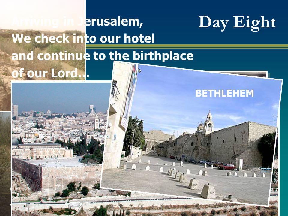 Included– Israel Nazareth Village