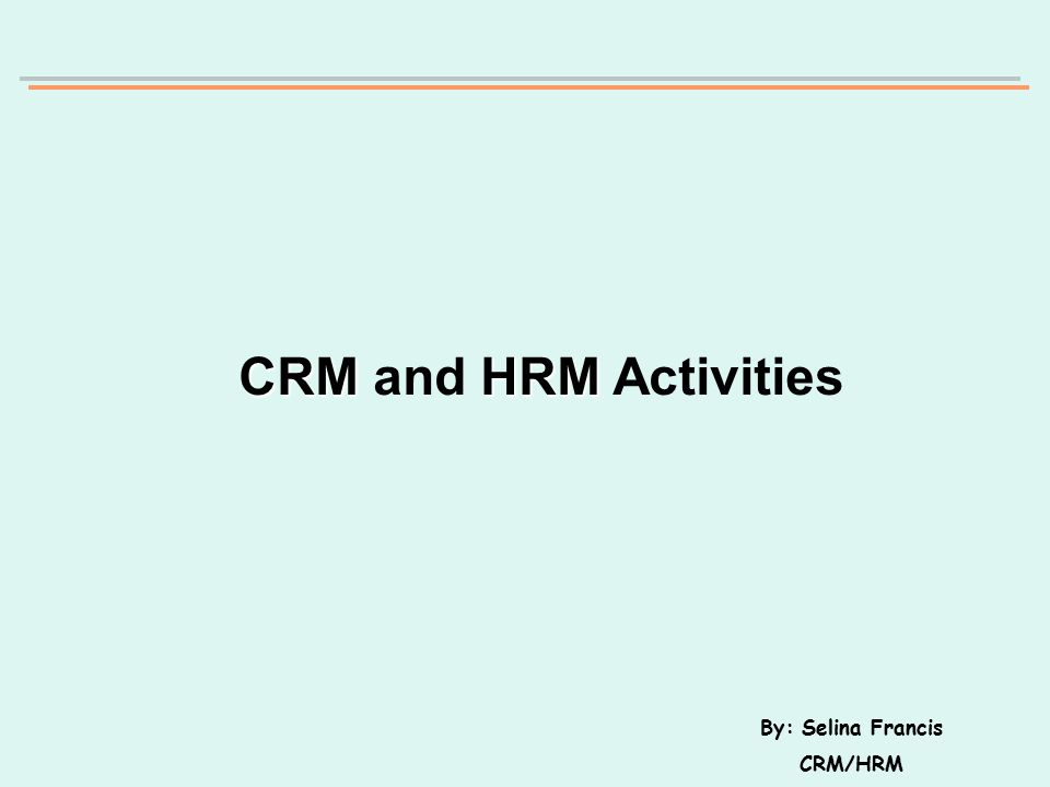 Introduction About a year ago A&A Computers introduced two main functions, the CRM and HRM functions.