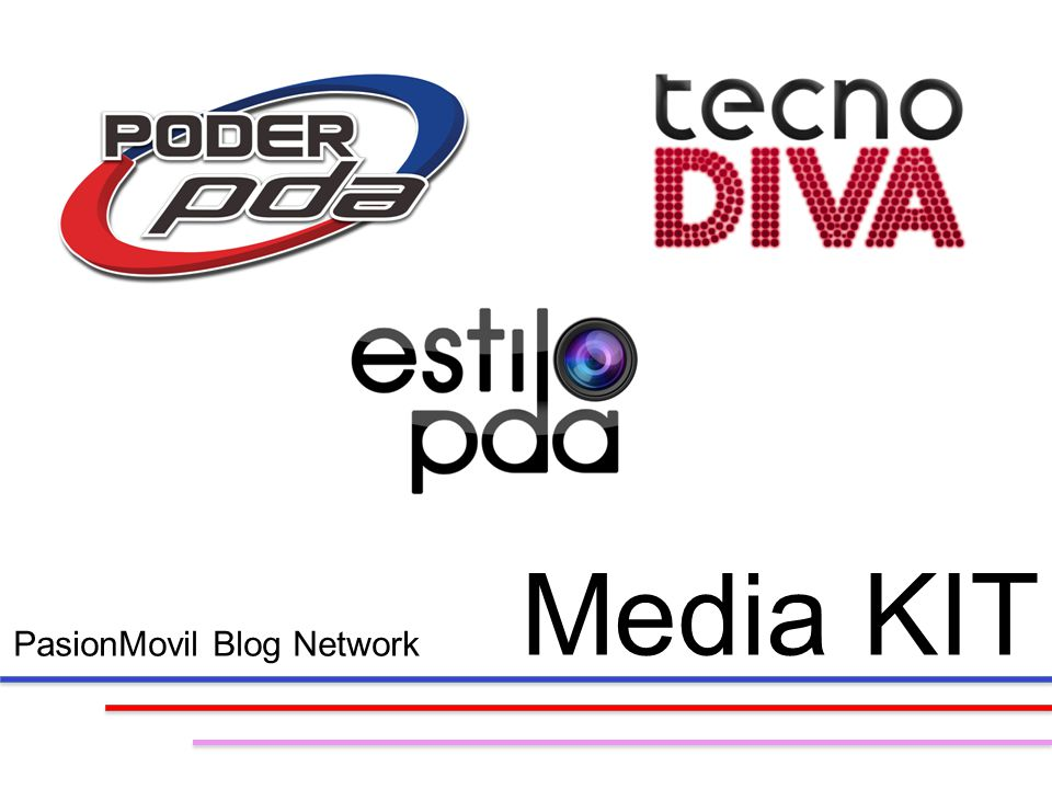 PasionMovil Blog Network Media KIT