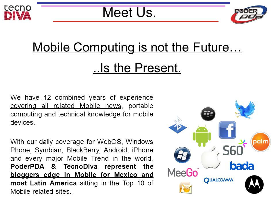 Mobile Computing is not the Future…..Is the Present.