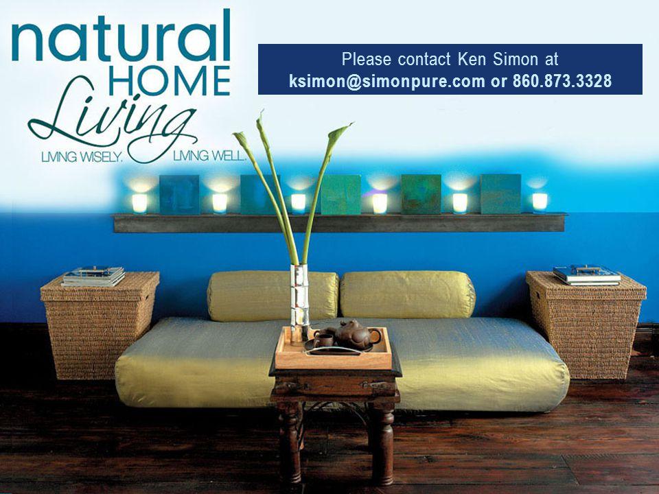 Please contact Ken Simon at ksimon@simonpure.com or 860.873.3328