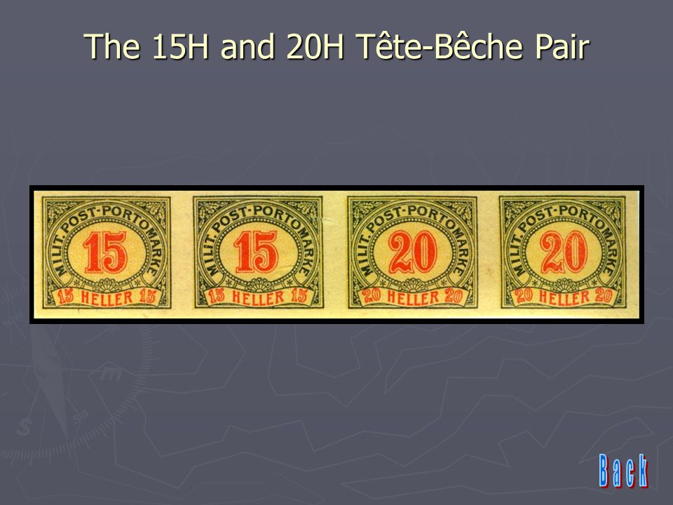The 15H and 20H Tête-Bêche Pair