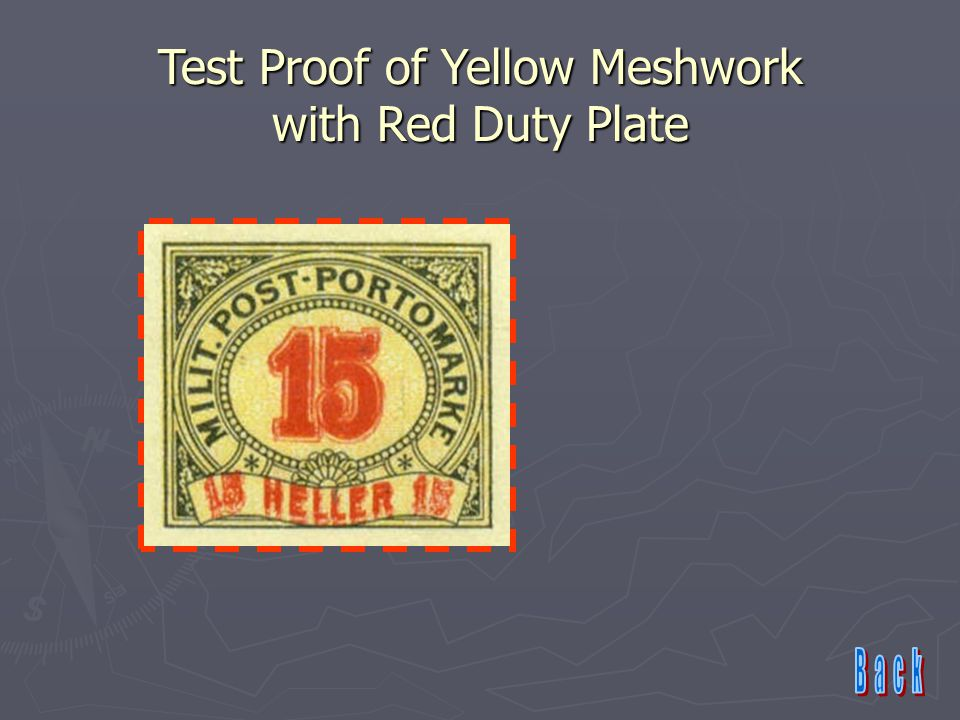 Test Proof of Yellow Meshwork with Red Duty Plate