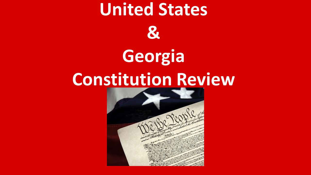According to the Georgia Constitution the state's voters do what?
