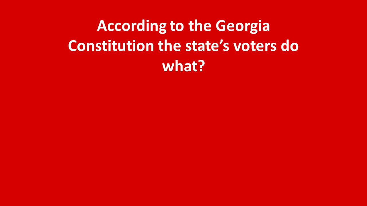 When was the Governor of Georgia limited to a one year term?