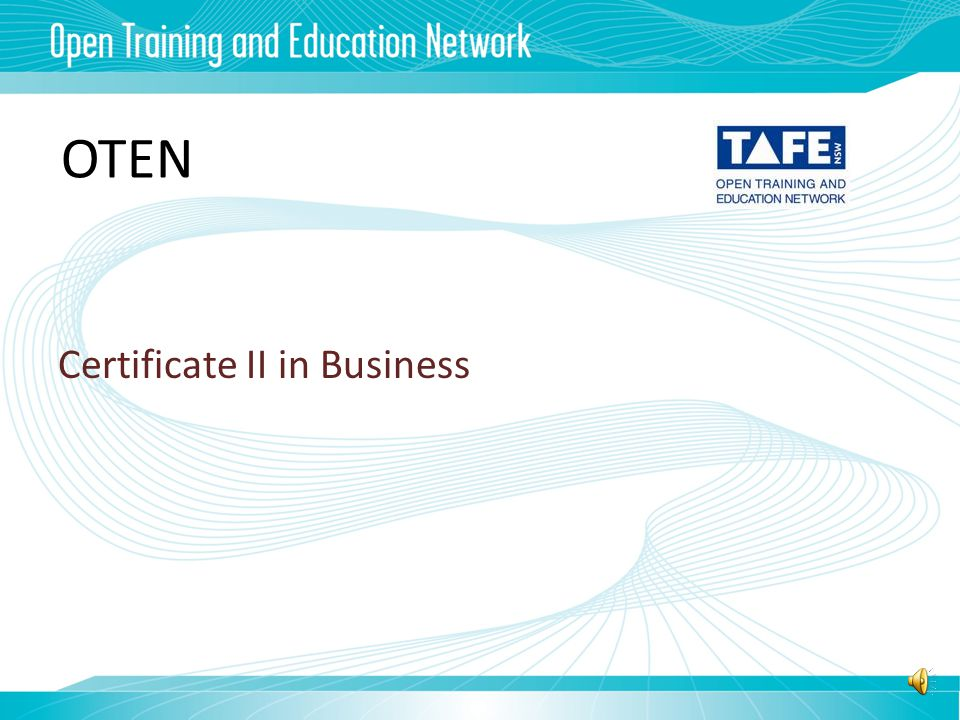 Qualifications for teaching VETiS Certificate IV in Training & Assessment Certificate II Business Retail Construction Tourism & Hospitality Primary Industries Entertainment Metal & Engineering Information Technology O T E N TAFE