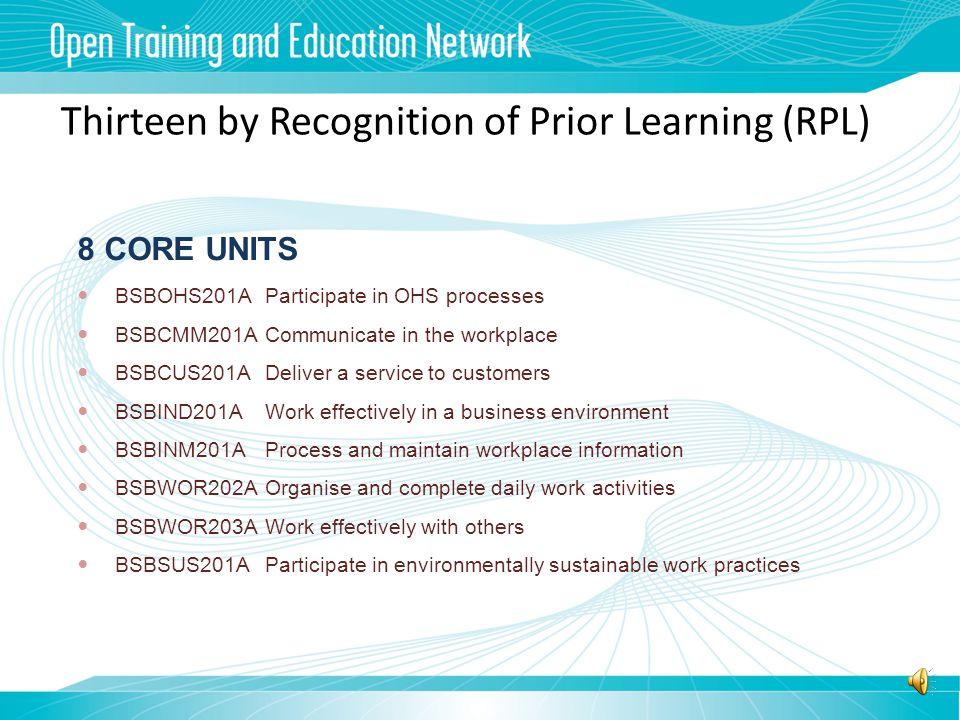 OTEN Certificate II in Business