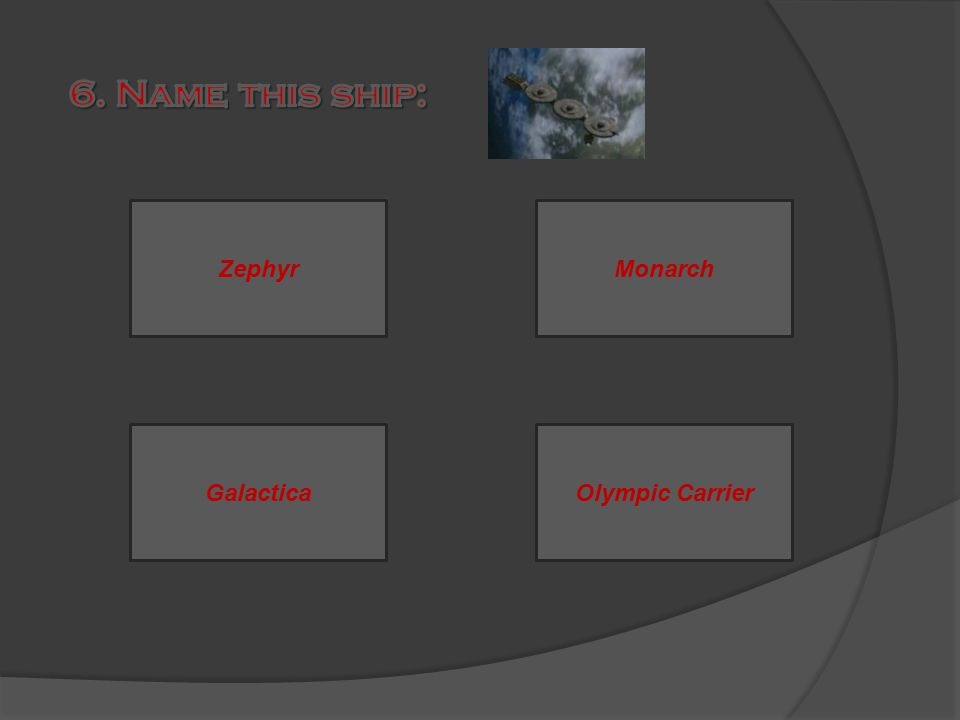ZephyrMonarch GalacticaOlympic Carrier