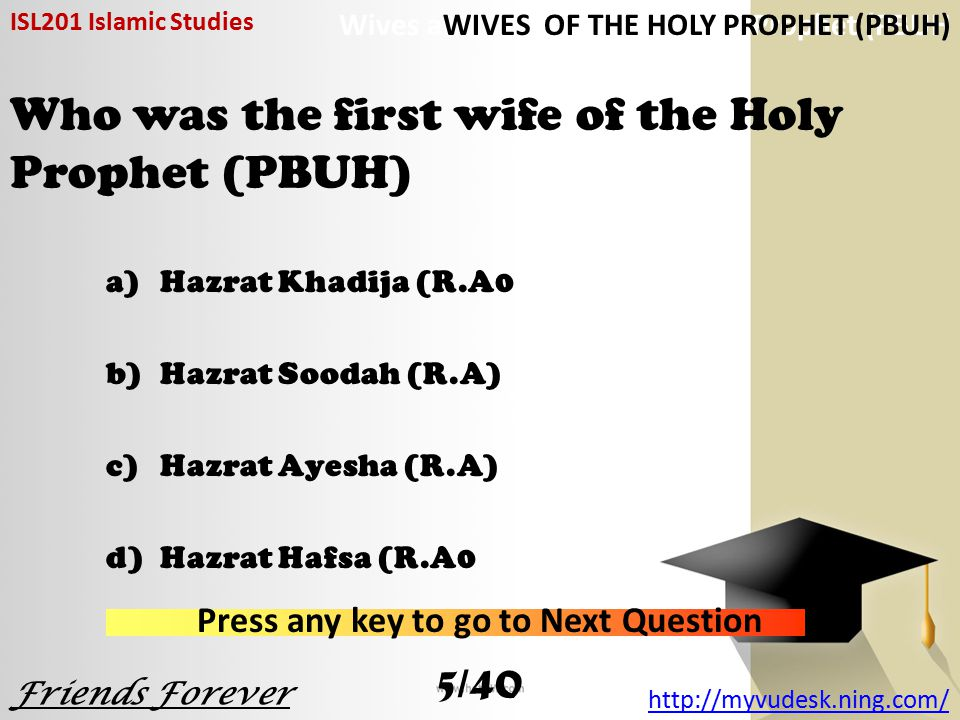 Who was the eldest son of the Holy Prophet (PBUH).