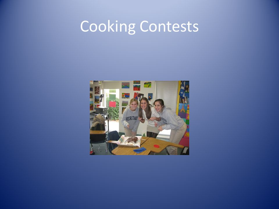 Cooking Contests