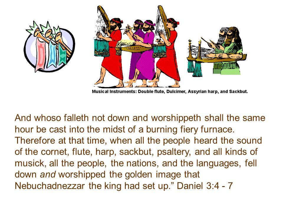 Then was Nebuchadnezzar full of fury, and the form of his visage was changed against Shadrach, Meshach, and Abednego: therefore he spake, and commanded that they should heat the furnace one seven times more than it was wont to be heated.