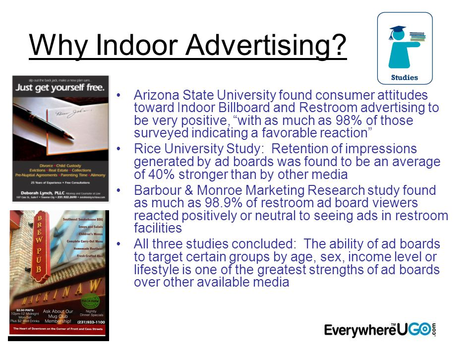 Why Indoor Advertising.