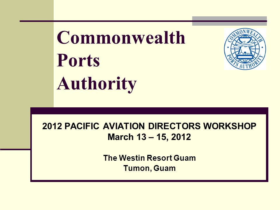 CPA's Outlook: CNMI will rebound because of our beautiful islands that attract Asian travelers; Close coordination with visitors authority on marketing & promotions to increase traffic by 100% over a 5 year period; Use the newly approved US DOT approval to convince foreign air carriers to fly additional US points beyond CNMI; Closely work with existing carriers to maximize load factors and to initiate new flights; Sichuan Airlines executed AUA with CPA for direct service to and from different cities in China; Air Saipan inaugural flight scheduled for July 2012.