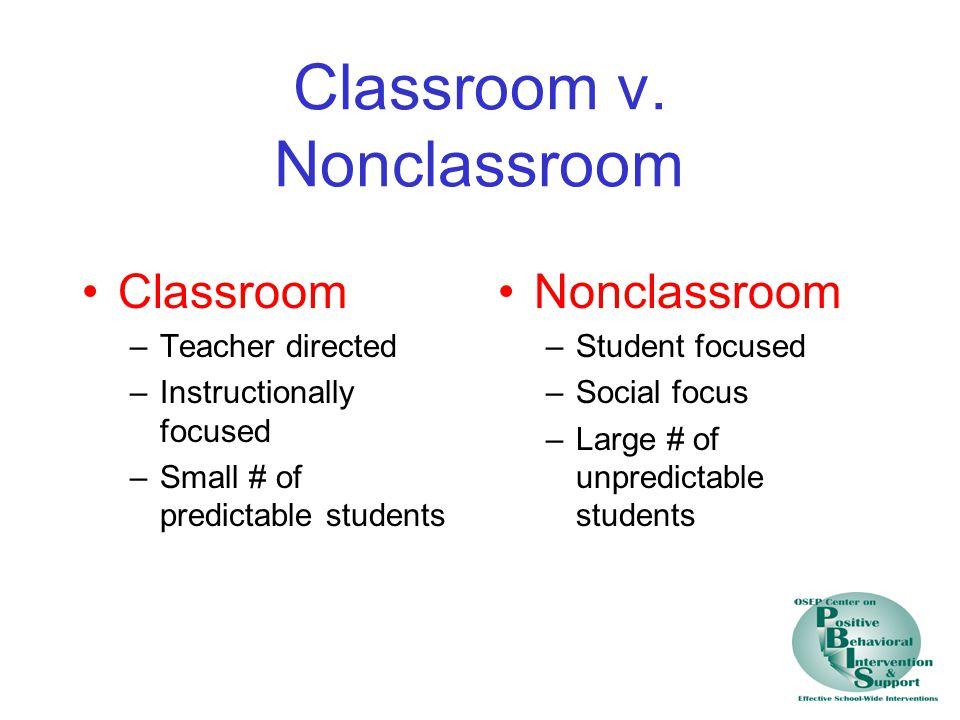 Classroom v.