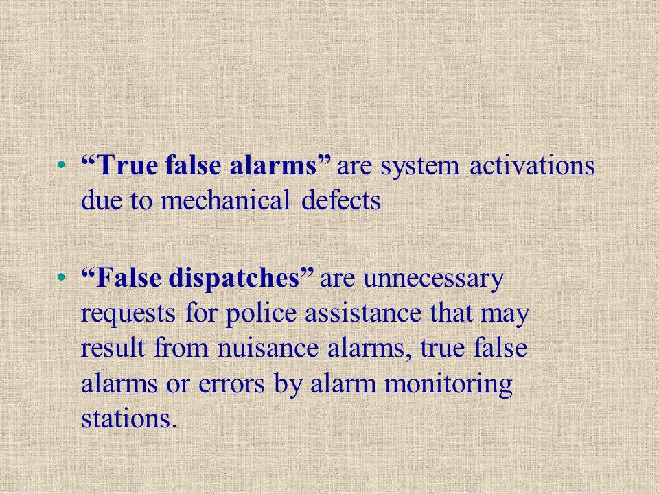 CUSTOMER FALSE ALARM PREVENTION CHECKLIST Please review the checklist below.