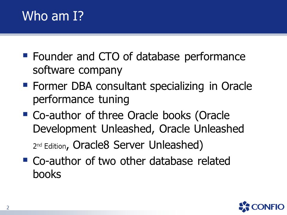 3 Agenda  Foundation  Case Study One: PL/SQL Issue  Case Study Two: Full Table Scans  Case Study Three: Inefficient Indexes  Case Study Four: Locking Problems  Q&A