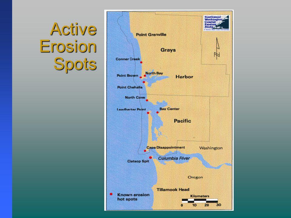 Active Erosion Spots